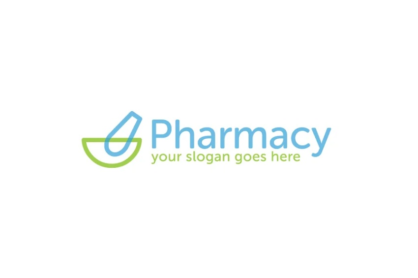 Simple Pharmacy Logo Templates