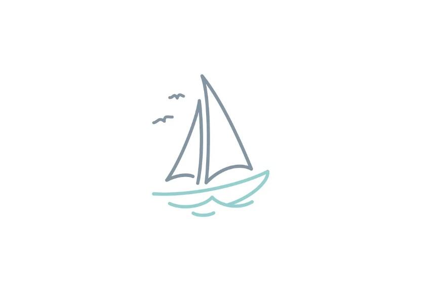 Simple Sail Logo Template