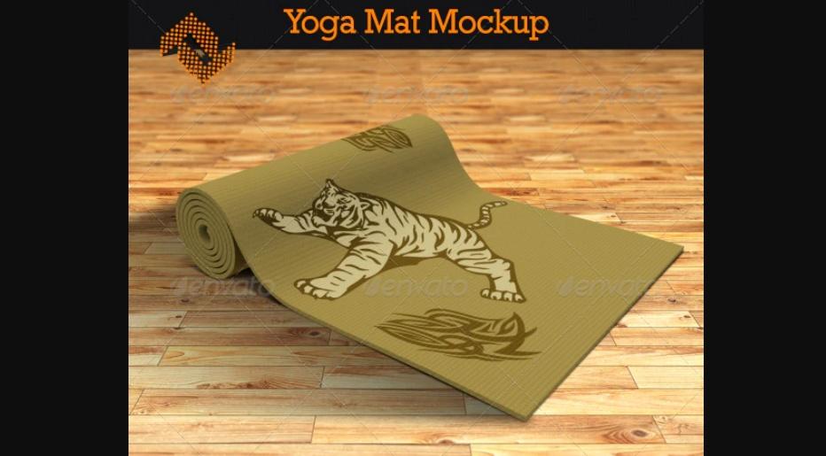 Simple Yoga Mat Mockups