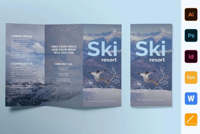 15+ Free Resort Brochure Template Design Downloads