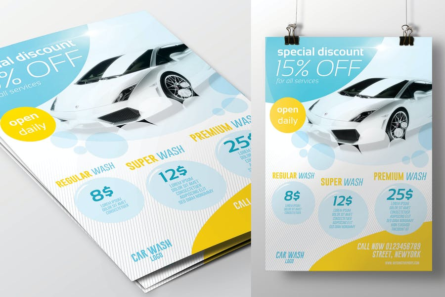 Special Discount Flyer Template
