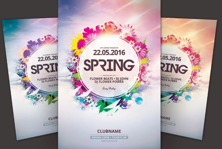 Spring Concert Flyer Templates