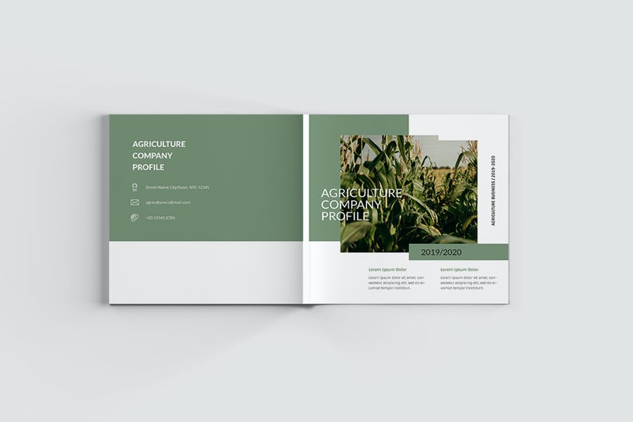 Square Agricultural Brochure