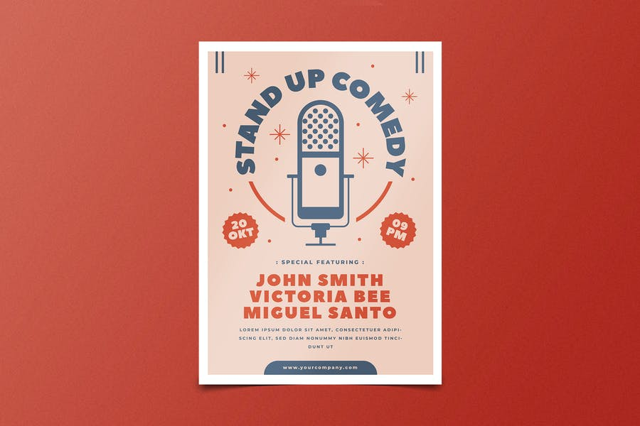 Stand UP Comedy Flyers