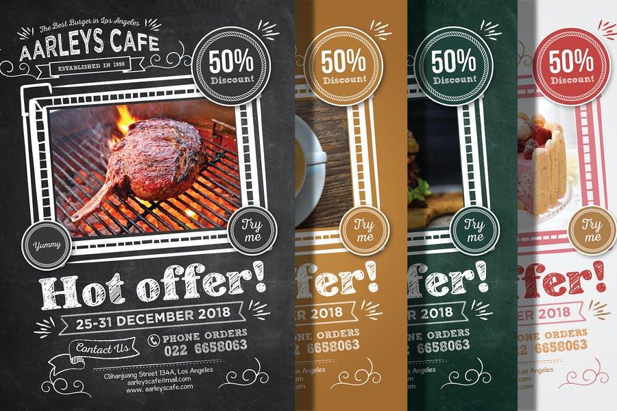 Steakhouse Promotional Flyer