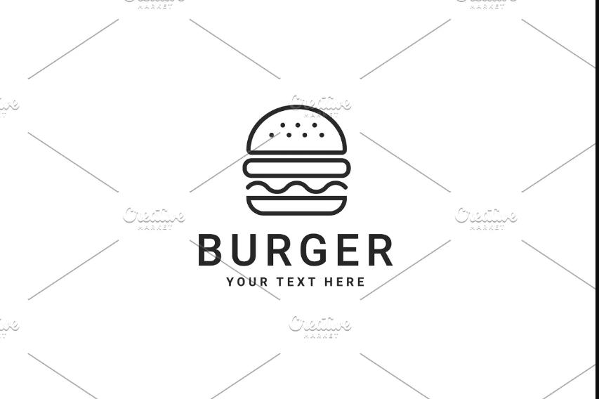 Street Food Branding Logo