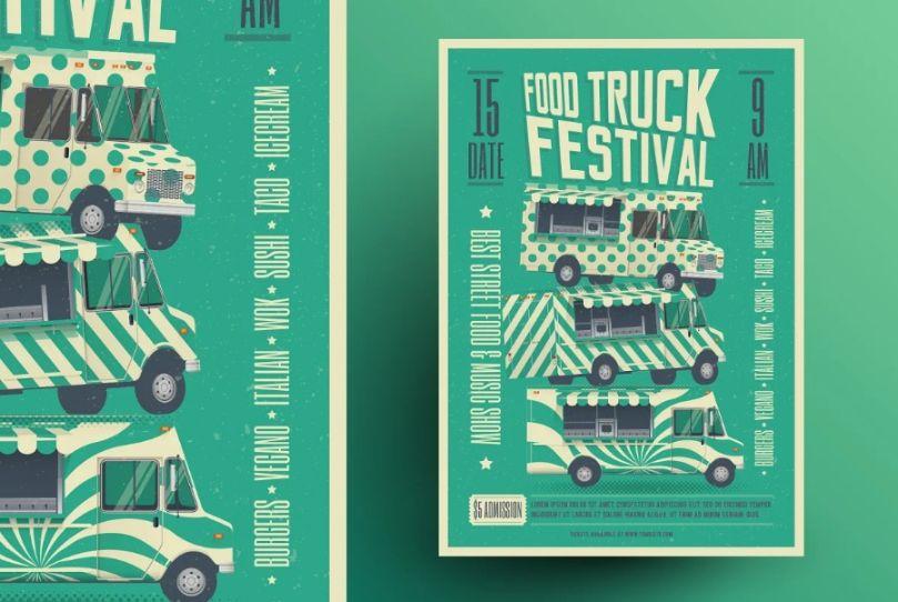 Street Food Festival Flyer Template