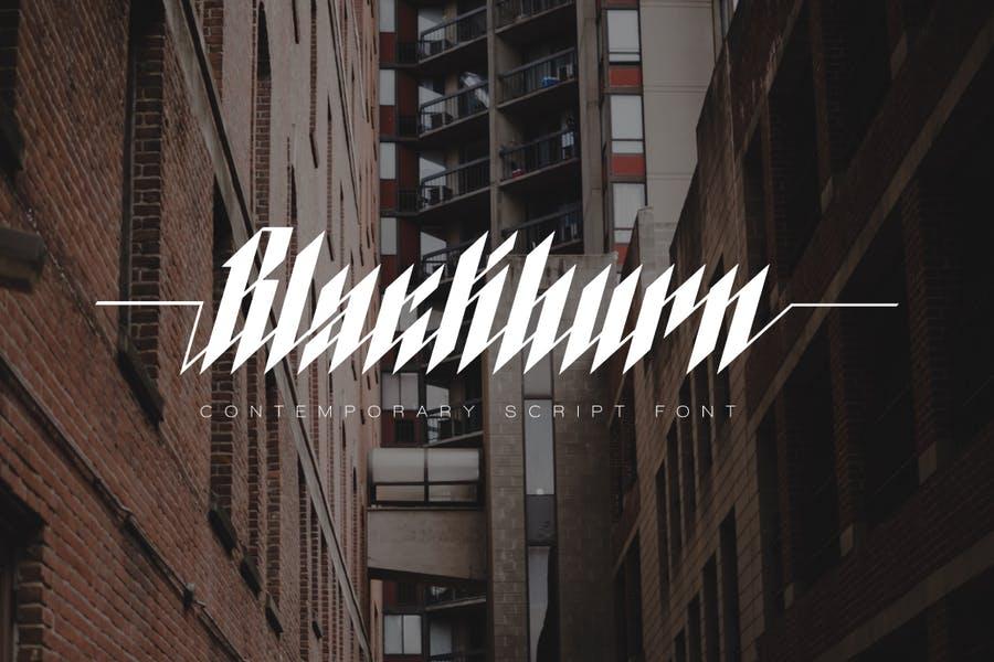 Stylish Blackletter Fonts