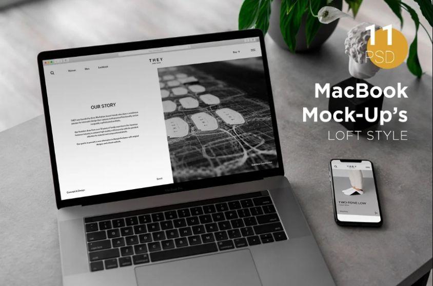 Stylish MacBook Pro Mockups