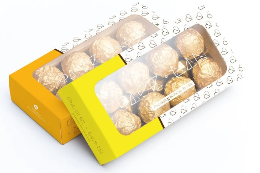 Sweet Box Mockup PSD