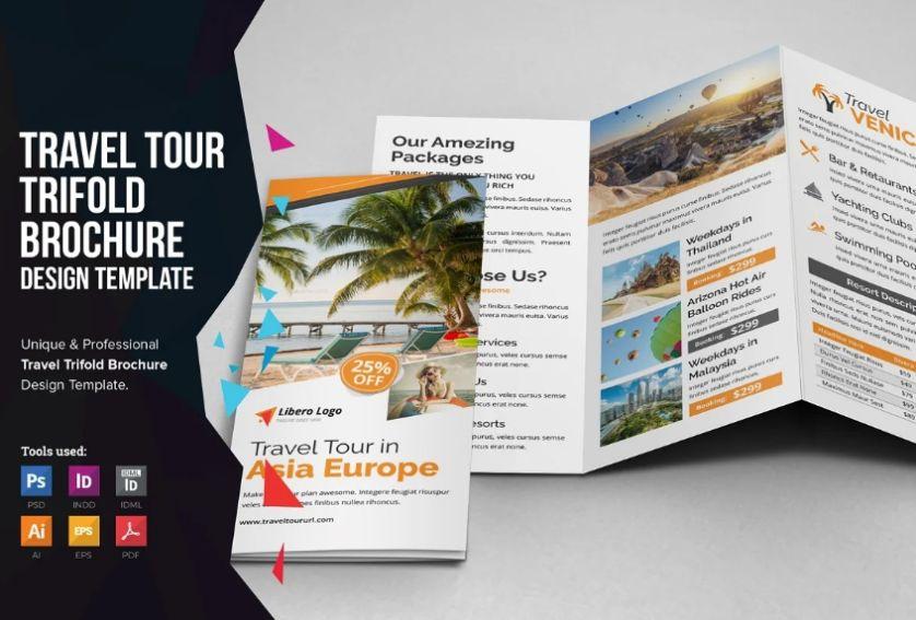 Tour Brochure Templates