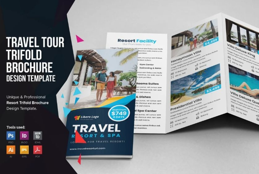 Travel and Tour Brochure Design