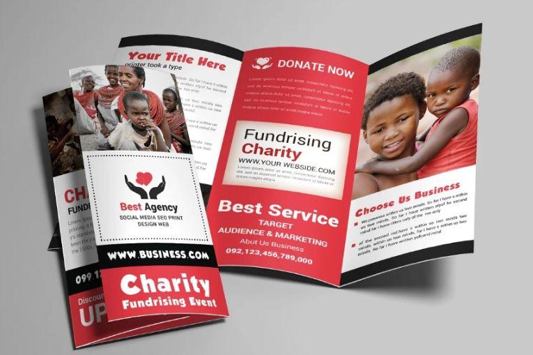 Tri Fold Charity Brochure Templates