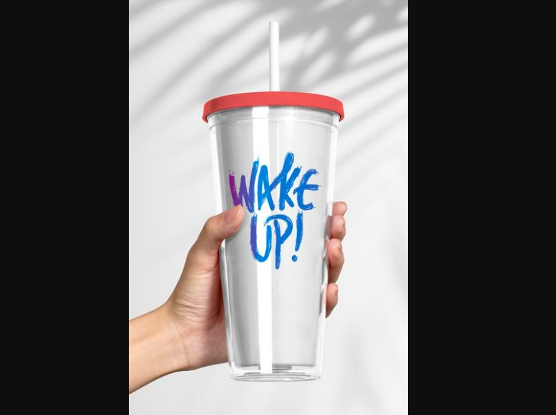Tumbler Cup Mockup PSD Free