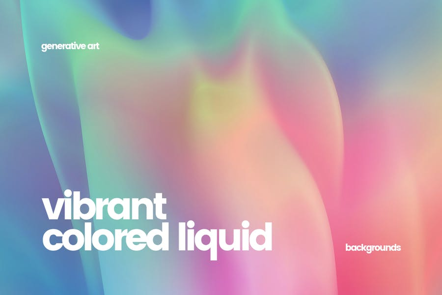 Vibrant Colorful Backgrounds