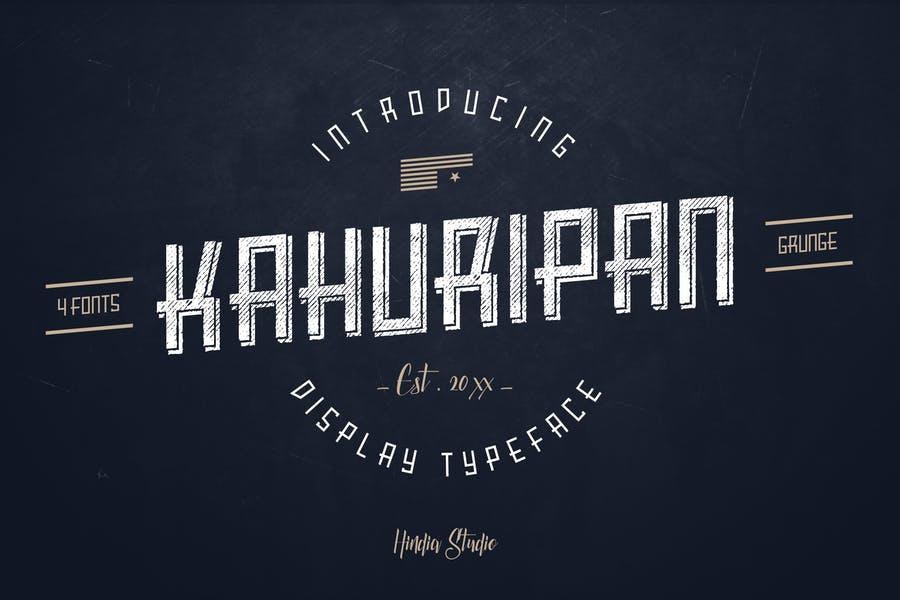 Vintage Apparel Design Fonts