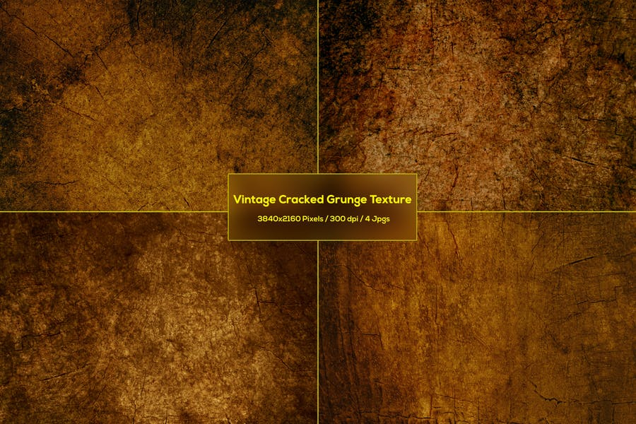 Vintage Cracked Grunge Textures