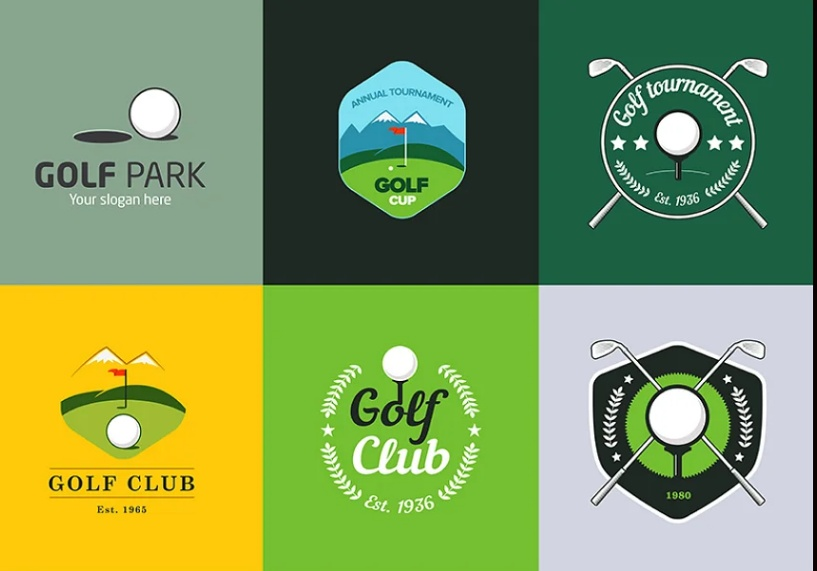 Vintage Giolf Logos and Badges