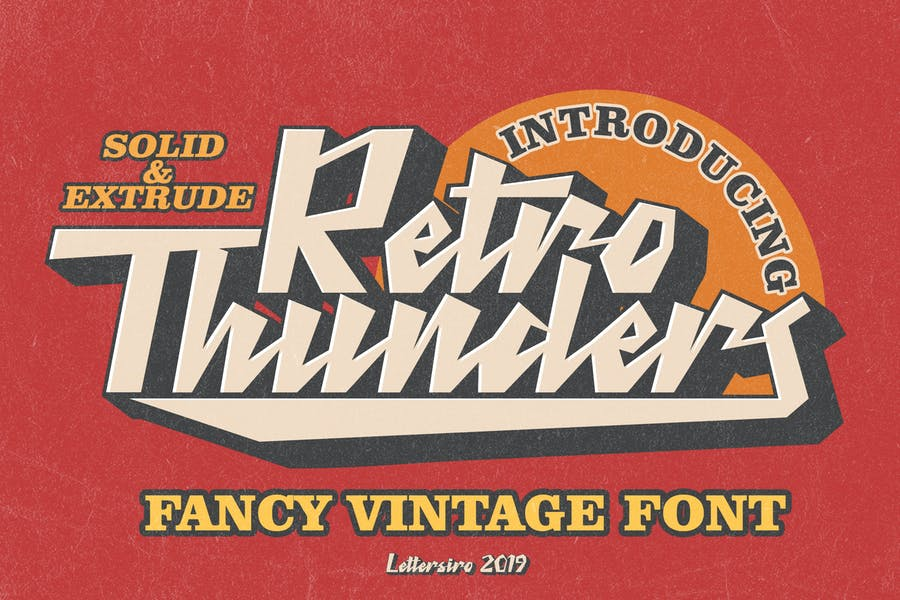 Vintage Sports Typefaces