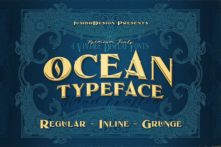 Vintage and Grungy Fonts