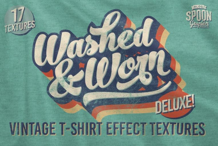 Washed and Worn Textures