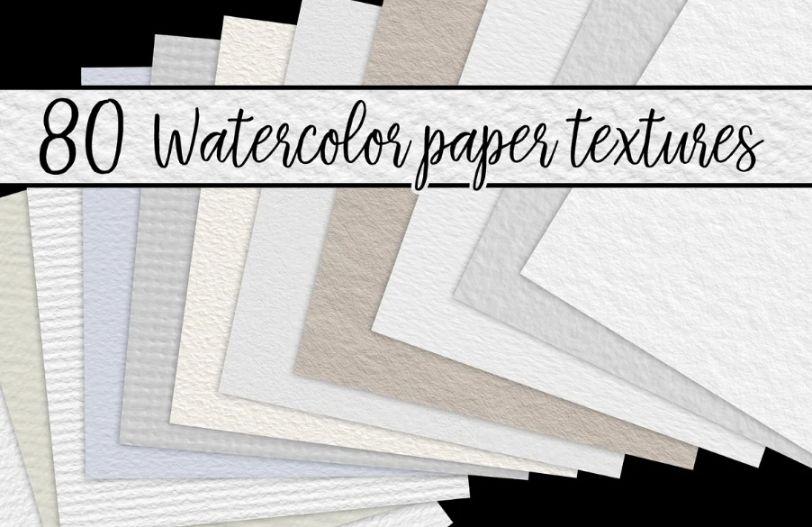 Water Color PaperTExtures