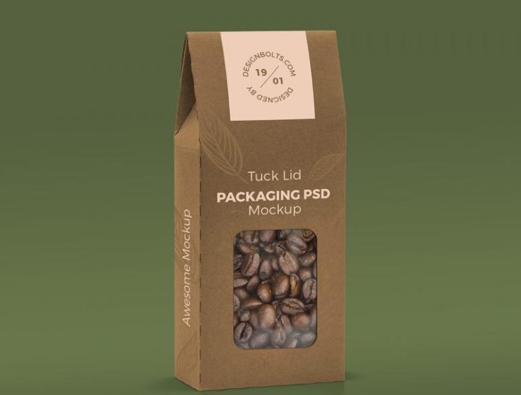 Window Box Packaging Mockups