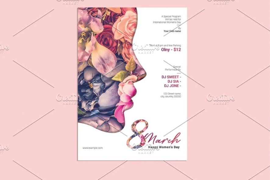 Women's Day Celebration Flyer
