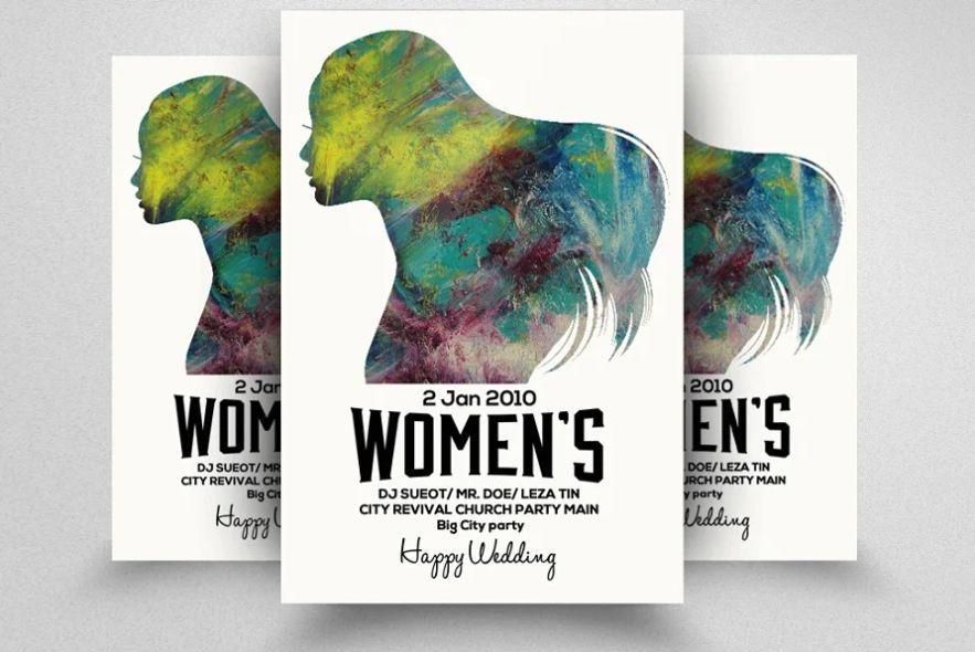 Womens Day Event Invite Flyer