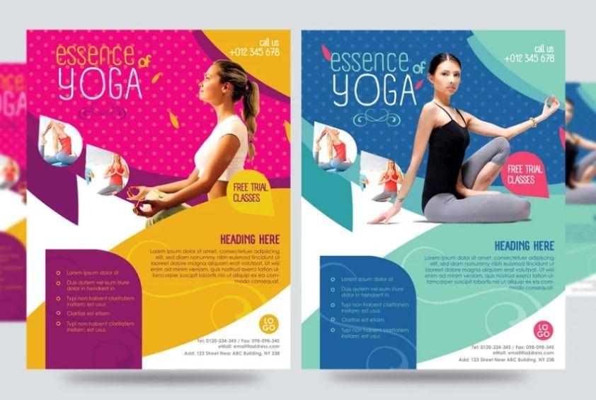 Yoga Awareness Flyer Design