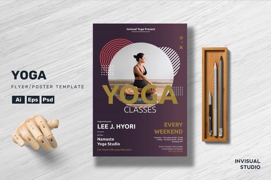 Yoga Business Flyer Design