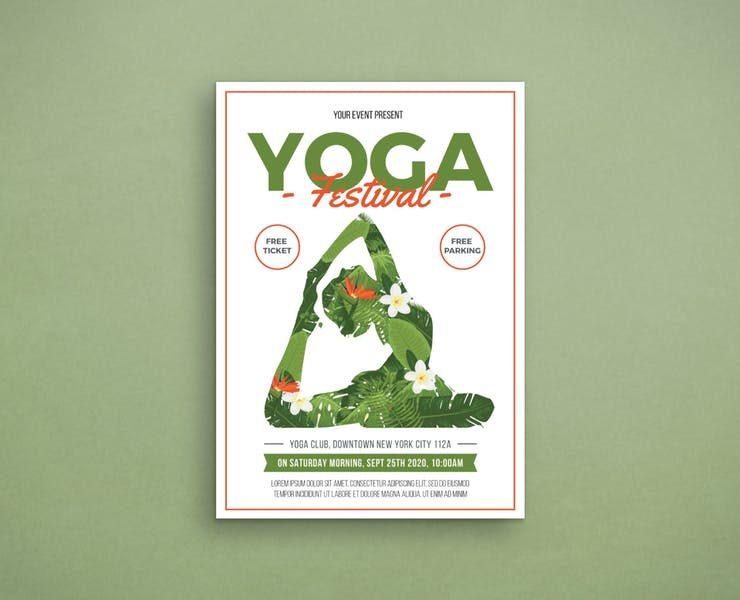 21+ Free Yoga Flyer Template Design Download
