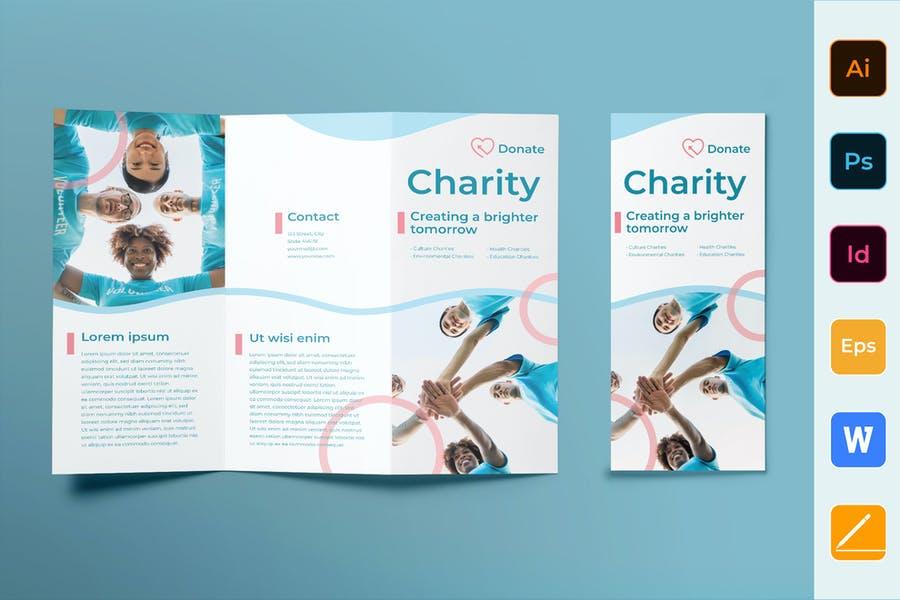 ai and PSD Church Brochures