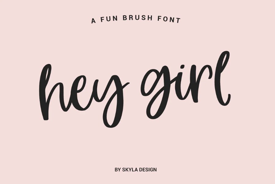 calligraphy Style Brush Fonts