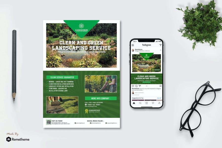landscaping Services Flyer Kit