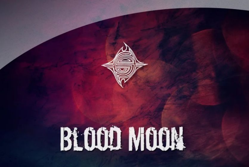 10 Abstract Blood Moon Textures