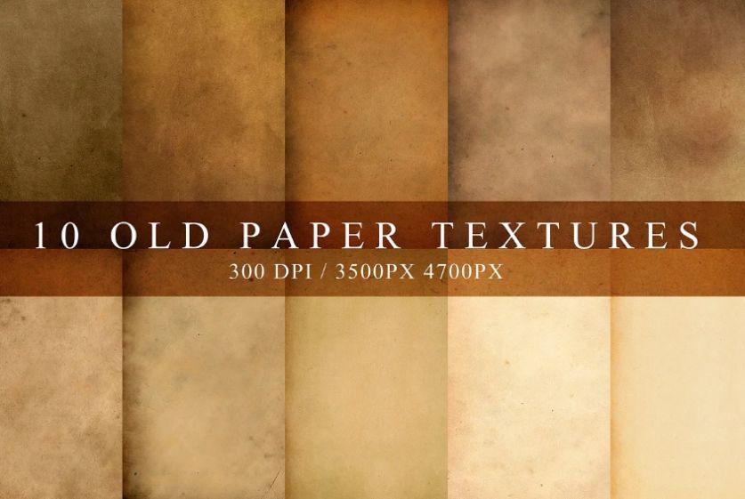 10 Antique Paper Textures