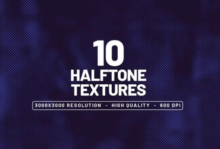 10 High Quality Halftone Backgrounds