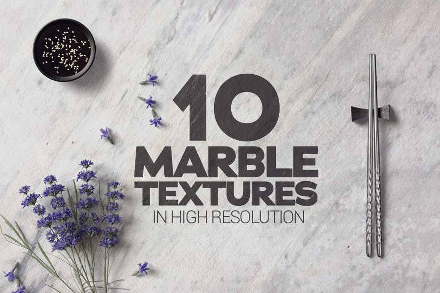 10 High Resolution Marble Textures