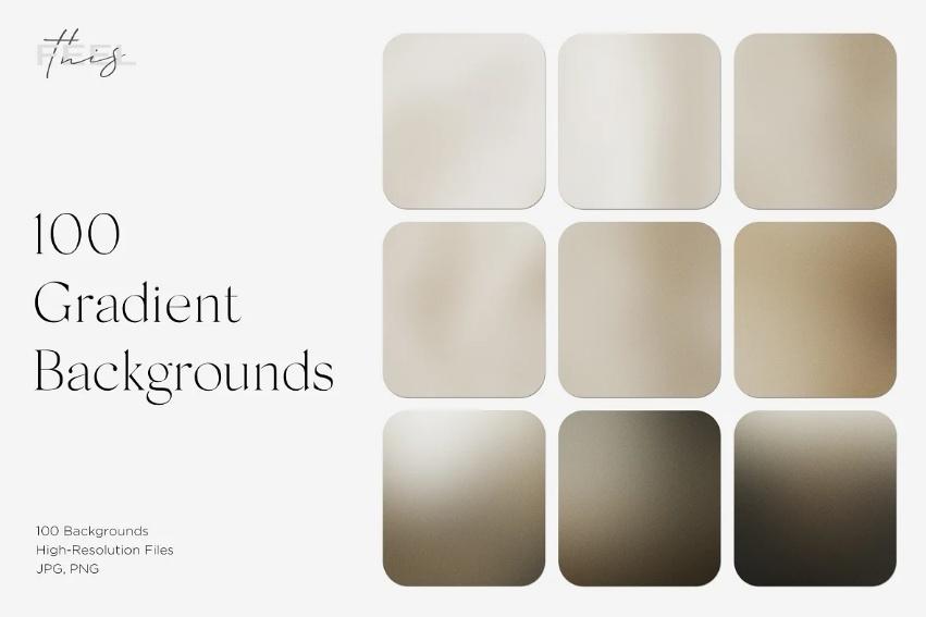 100 Blur Grain Textures