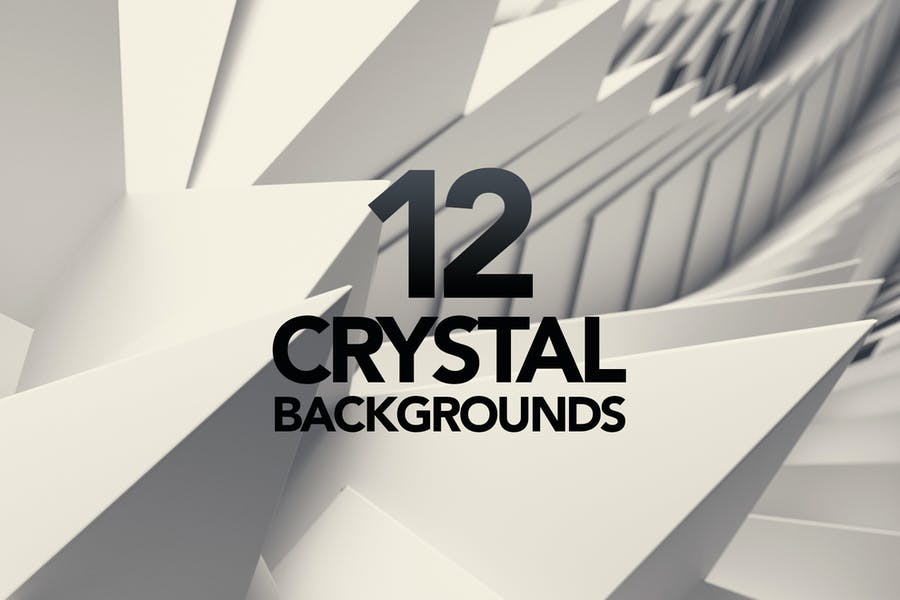 12 3D Polygon Backgrounds