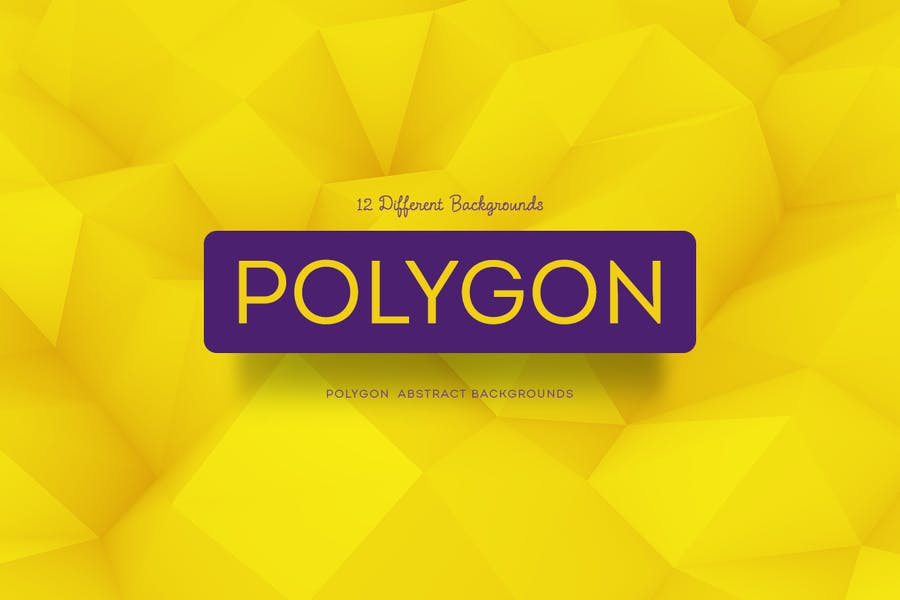 12 Polygon Style Backgrounds