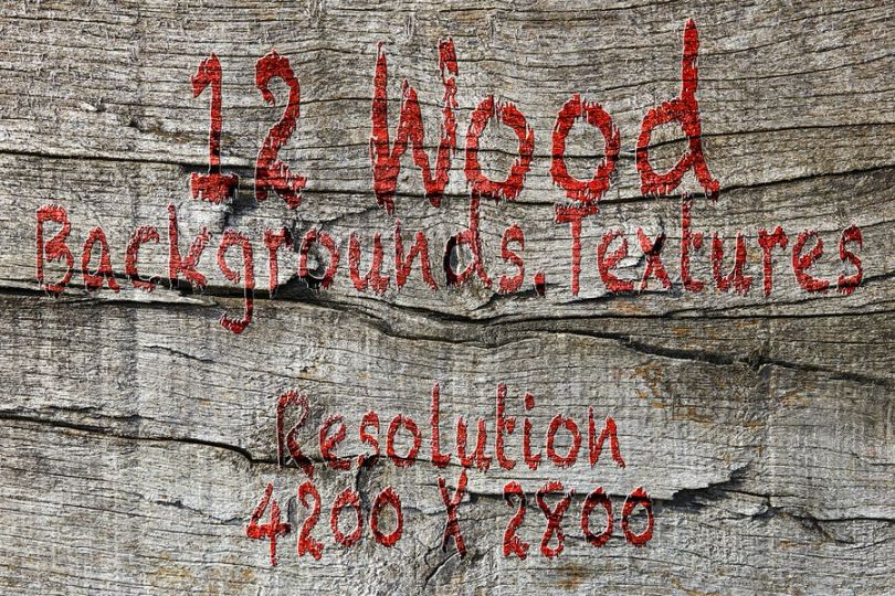 12 Rustic Wood Backgrounds