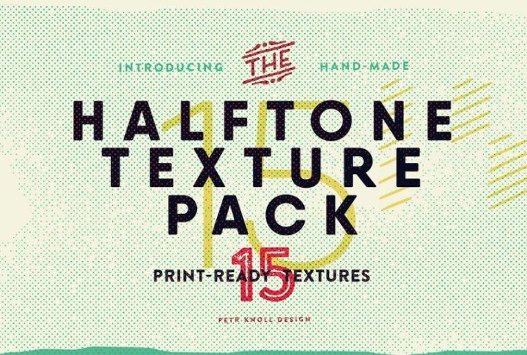 15 Halftone Vintage Backgrounds