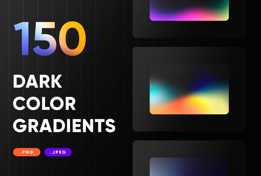 150 Dark Color Backgrounds