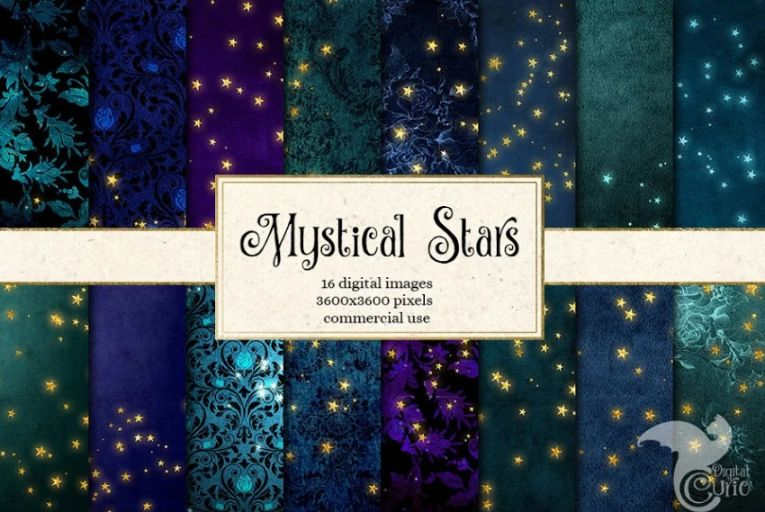 16 Mystical Star Backgrounds