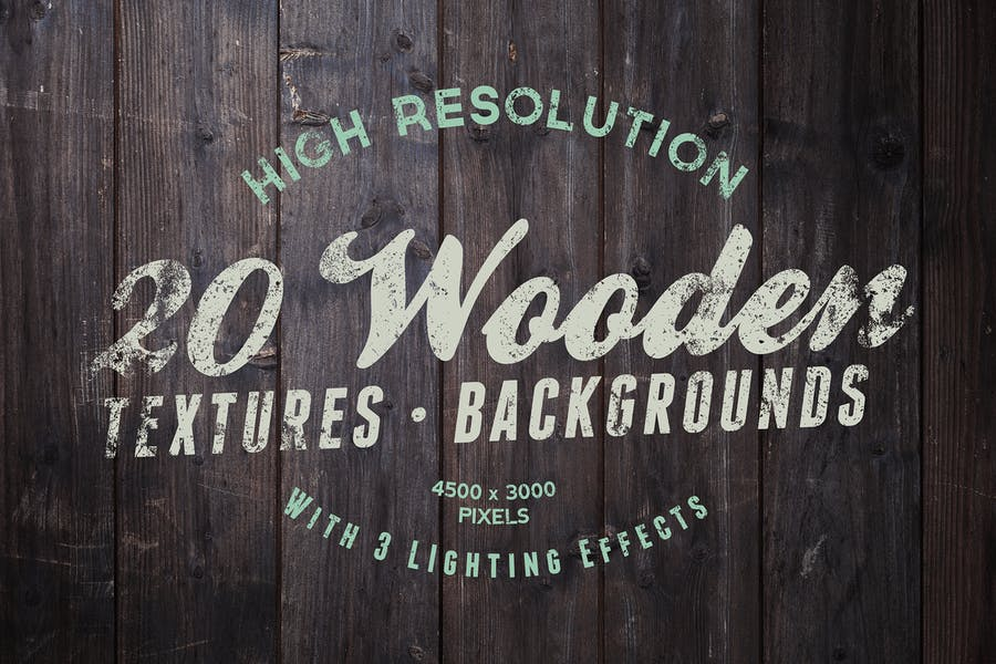 20 High Resolution Wood Textures
