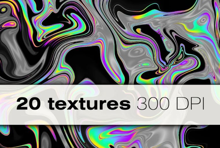 20 Holographic Design Backgrounds
