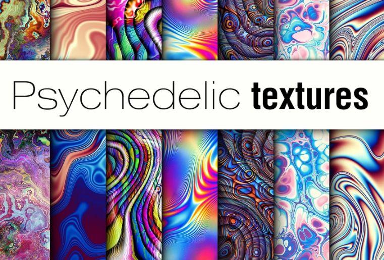 20 Psychedelic Wavy Textures