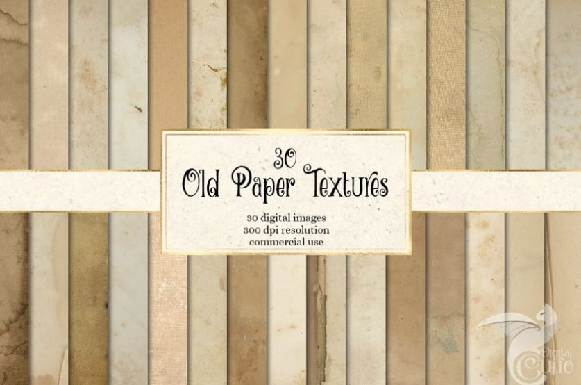 30 Old Paper Backgrounds